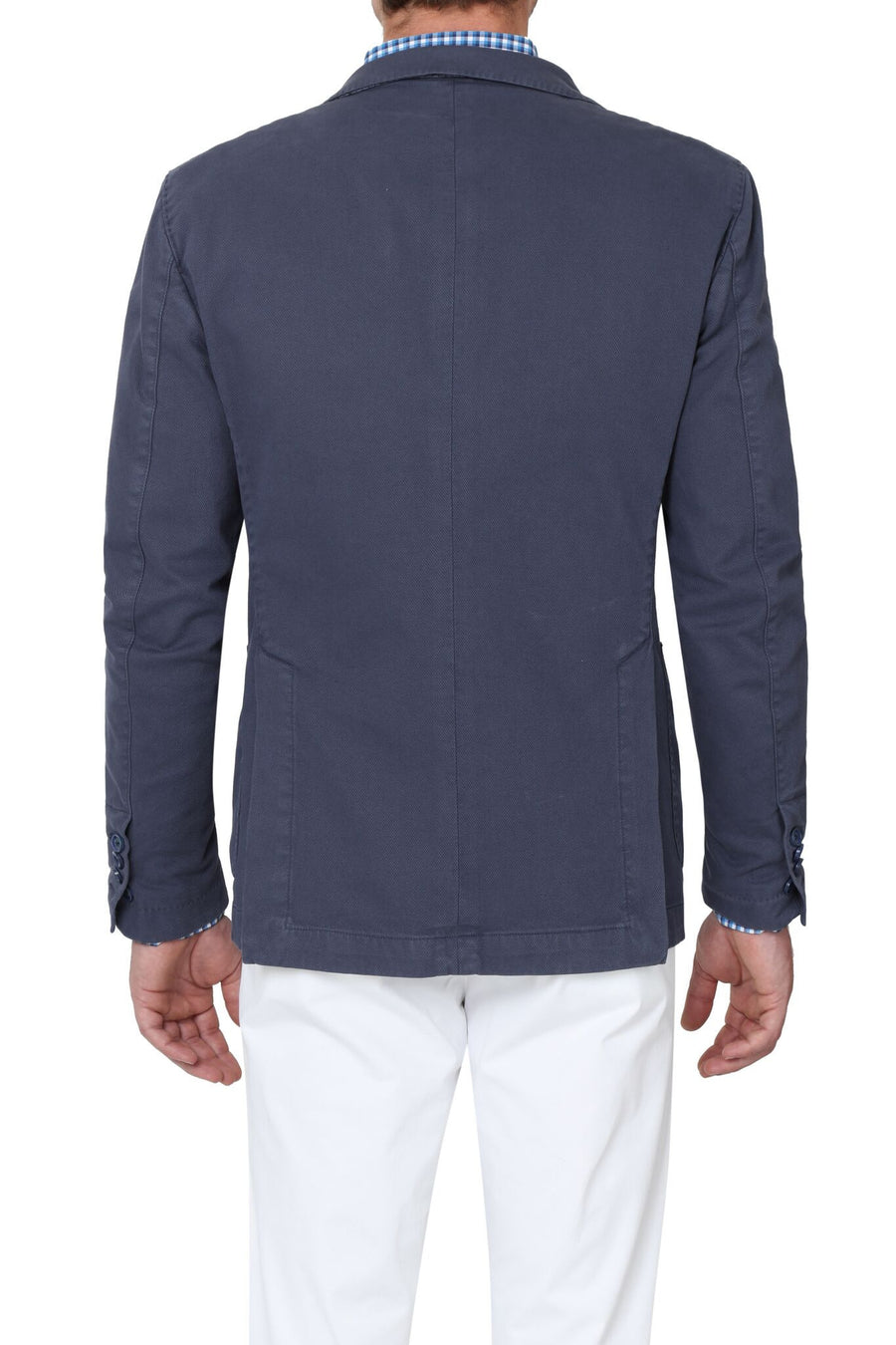 Jerry Key Cotton Sport Jacket in Blue