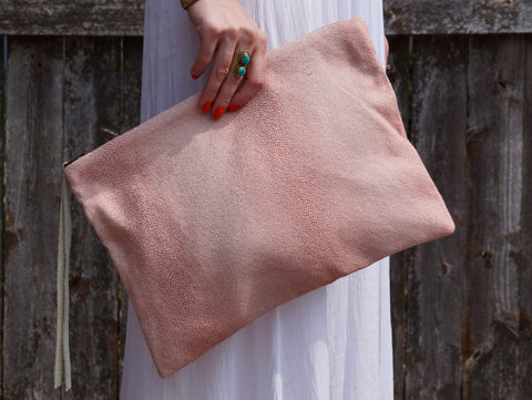Poppy Oversized Clutch