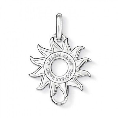 Thomas Sabo Sterling Silver Charm Club Sun Carrier CX0176 - Lyncris Jewellers