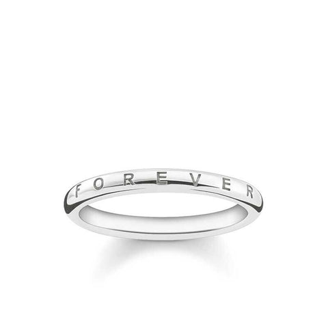 THOMAS SABO Sterling Silver Forever Ring TR2125 - Lyncris Jewellers