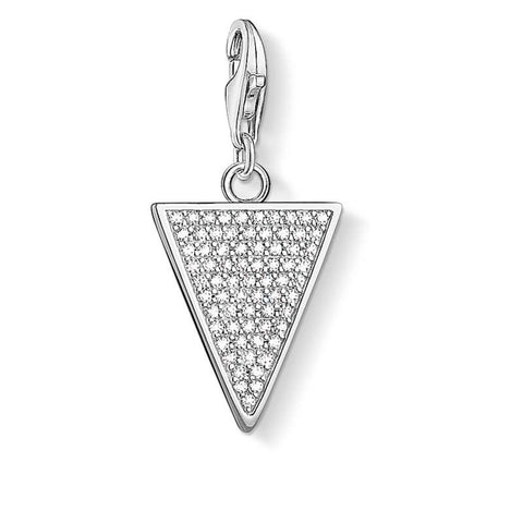 Thomas Sabo Charm Club Generation CZ Triangle Charm CC1580 - Lyncris Jewellers