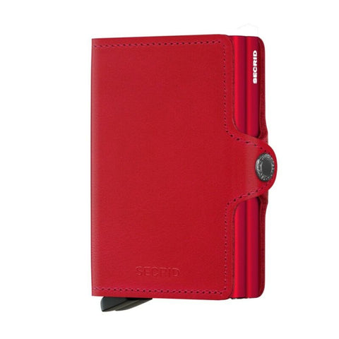 SECRID Twinwallet Original Red Red Leather SC6004 - Lyncris Jewellers