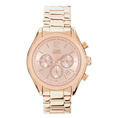 JAG Women's Lisa Rose Gold Chronograph Watch J2172A - Lyncris Jewellers