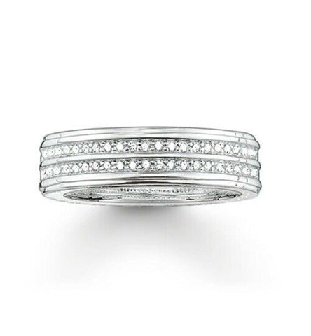 THOMAS SABO Pave CZ Eternity Ring TR1992 - Lyncris Jewellers