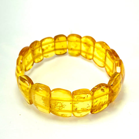 Lemon Baltic Amber Bracelet LJ9710 - Lyncris Jewellers