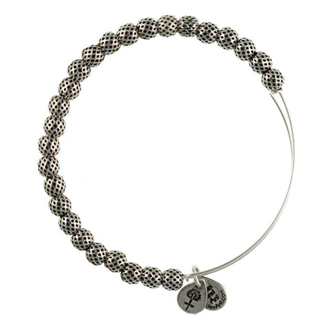 ALEX AND ANI Classic Euphrates Beaded Bangle Bracelet - Lyncris Jewellers