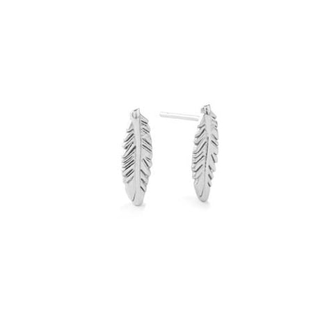 ALEX AND ANI Providence Feather Stud Earrings - Lyncris Jewellers