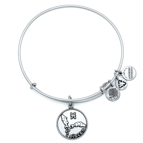 ALEX AND ANI Pisces Bangle Bracelet - Lyncris Jewellers