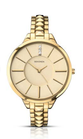 Sekonda Gold Watch With Gold Dial SK2014 - Lyncris Jewellers