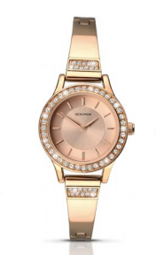 Sekonda Rose Gold Watch With Diamante Bezel SK2203 - Lyncris Jewellers