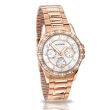 Sekonda Rose Gold Chronograph Diamante Watch SK4740 - Lyncris Jewellers