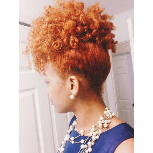 3 Natural Hair Updos For The Holidays