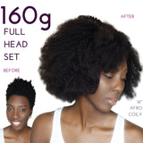 clip ins for black women afro hair