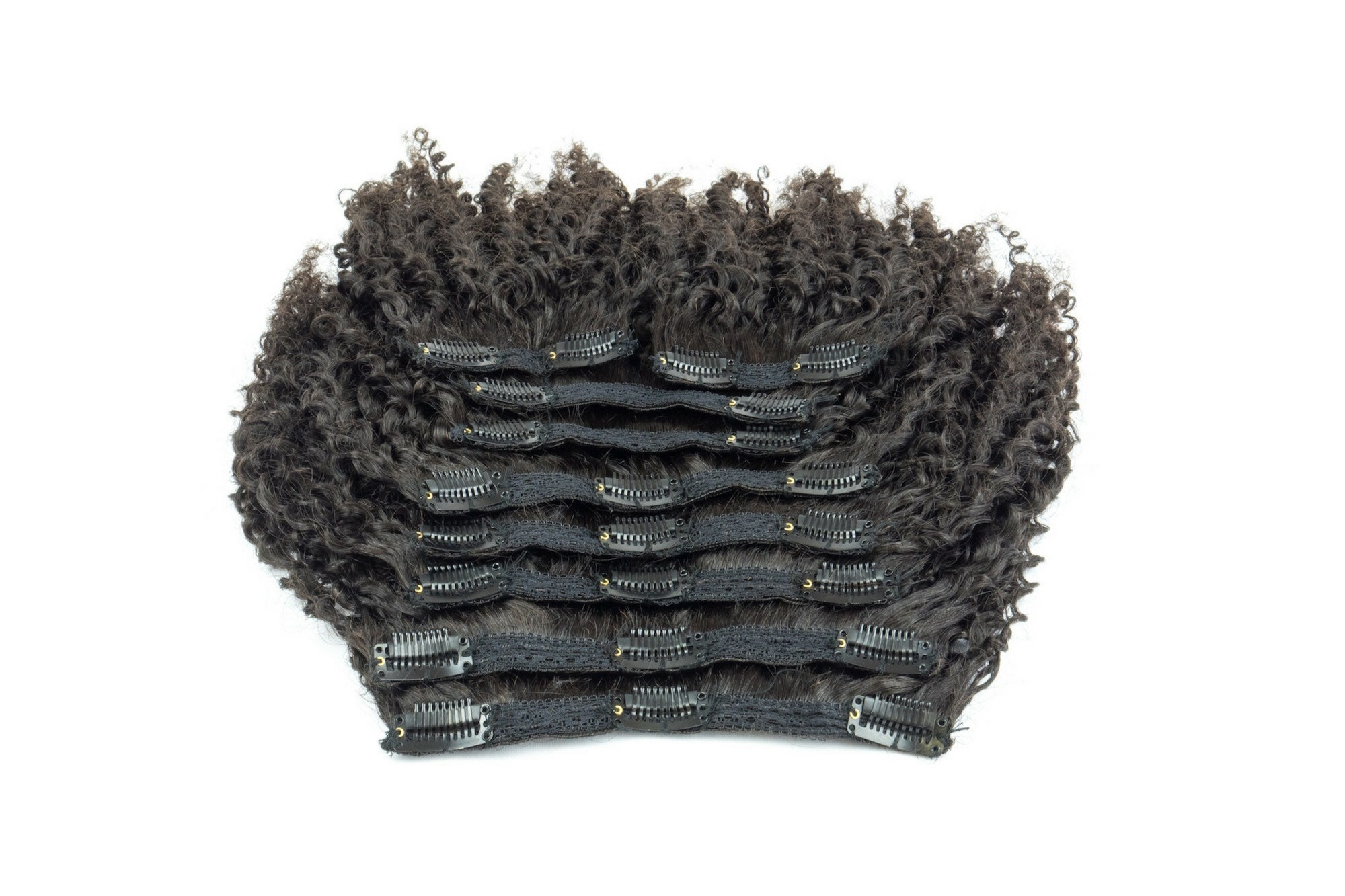 Afro Kinky Curly Clip Ins 4a Textured Extensions Kinkycurlyyaki
