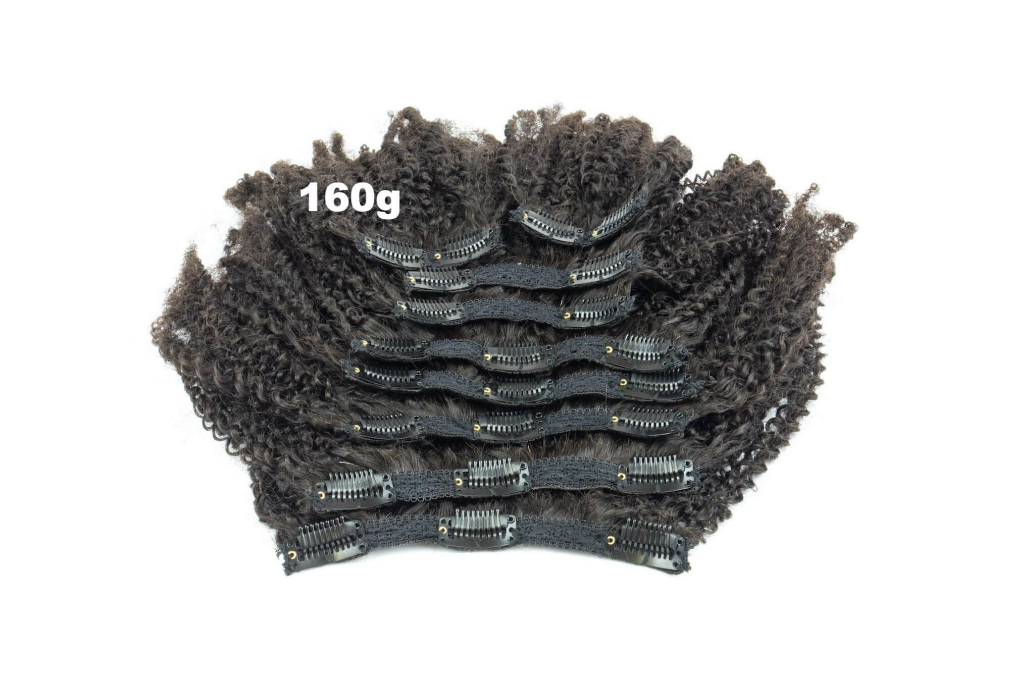 Afro Coily 4c Clip In Hair Extensions Kinkycurlyyaki