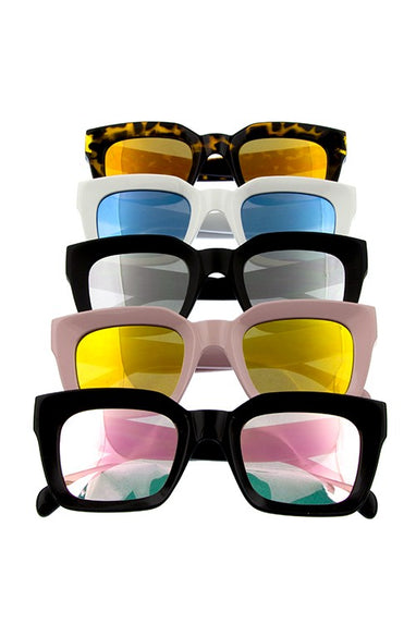 Chic Retro Bold Sunglasses