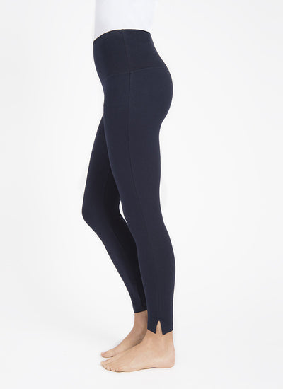 Audrey Ankle Legging by Lysse-Black