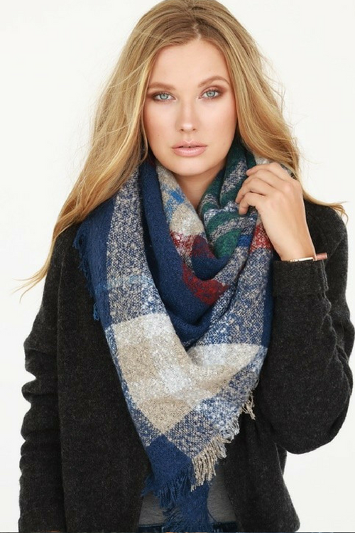 Boucle Blanket Scarf (3 Colors)