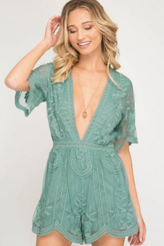 The Rebecca Romper (2 Colors)