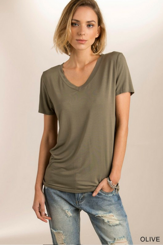 The Soft V-Neck by POL (3 Colors)