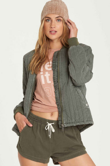 Shell We Bomber Jacket By Billabong