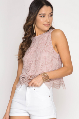 Pretty Face Lace Top (3 Colors)