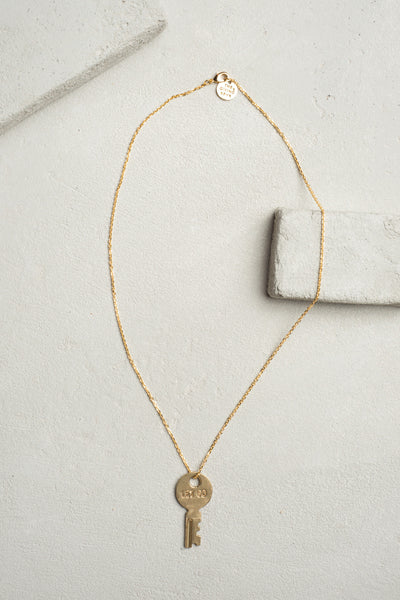 The Giving Key- Dainty XL Pendant