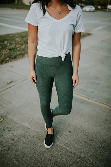 Aurora Moto Leggings (3 Colors)