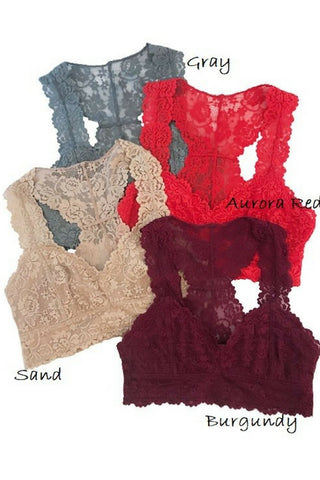 The Pretty Lace Bralette (2 Colors)