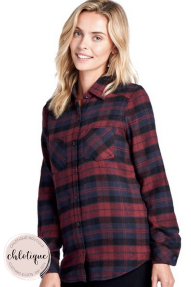 Sweet Home Alabama Flannel (3 Colors)