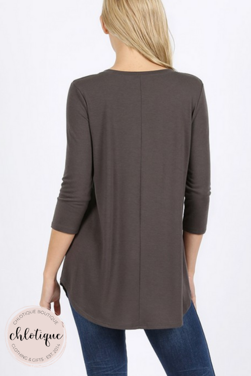 Premium Basic Round Neck Top