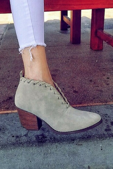 Twist and Tie Bootie