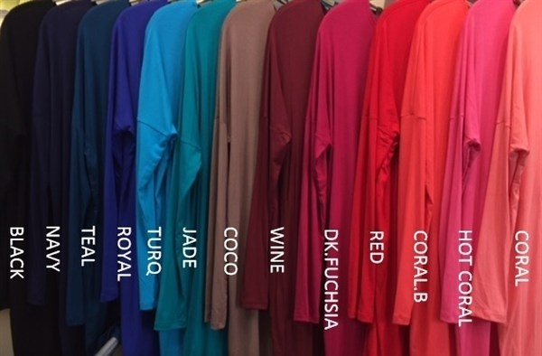 Basic Bamboo Top (5 Colors)