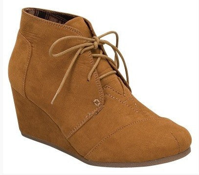 Patricia Wedge Bootie