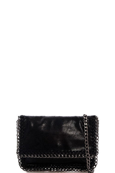 Chained Chic Clutch
