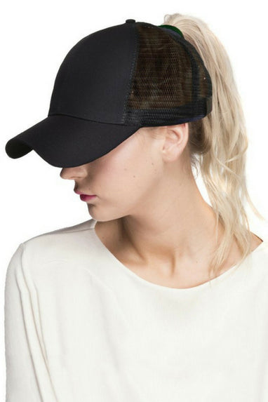 C.C Mesh Ponytail Hats