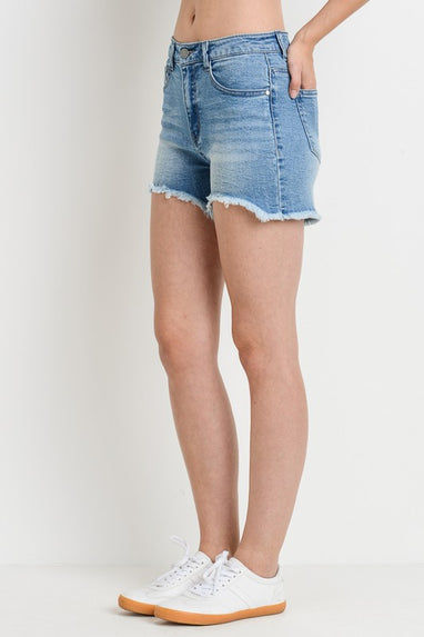 Take A Walk Denim Shorts