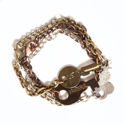 The Giving Key Never-ending Bracelet