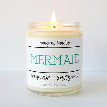 Seagoat Candles - Mermaid - Ocean Air + Salty Hair