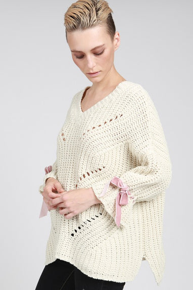 Ribbons & Bows Knit Sweater