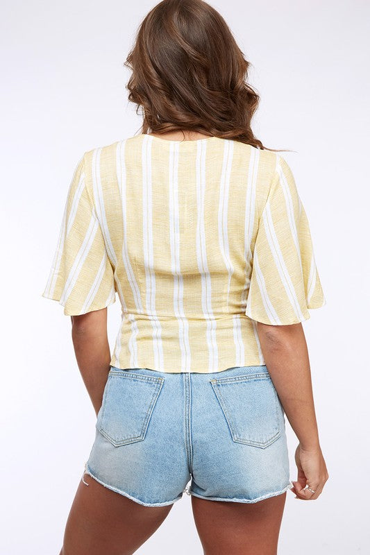 Sunshine & Stripes Top