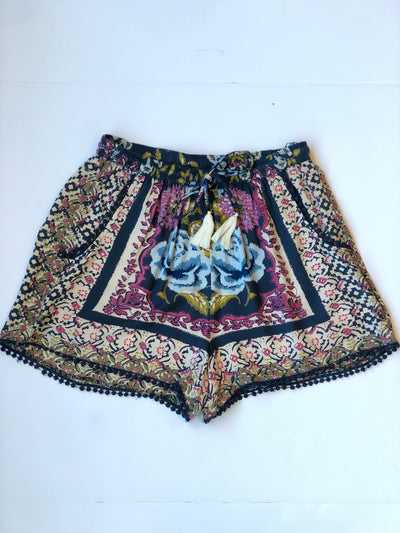 Midnight Floral Shorts