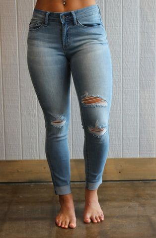 Kiki Distressed Jeans