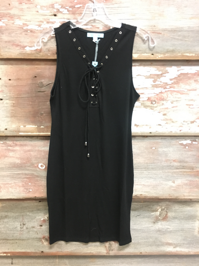 Emmy Lace Up Dress