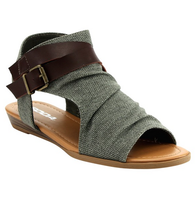 Christy Canvas Sandal