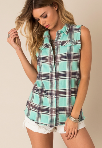 Remington Cutoff Top by White Crow