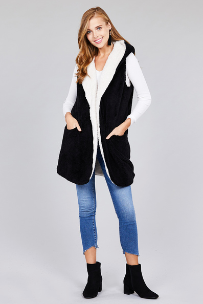 Granger Fur Vest - Plus