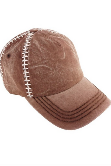 Olive & Pique Football Hat