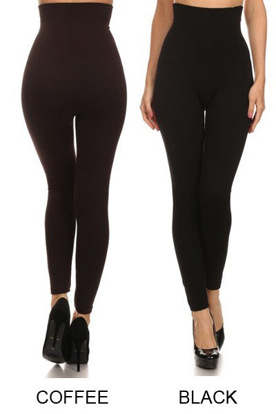 Tummy Control Empire Waist Leggings