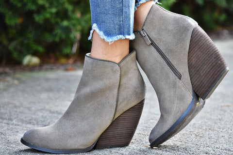 The Adley Bootie-khaki